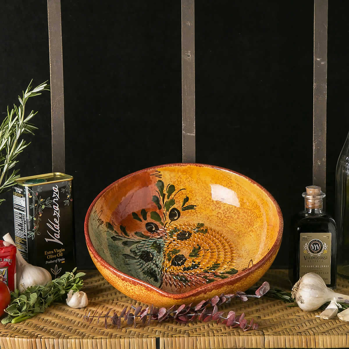 Vintage Olive Grater Bowl & Vintage Olive Grater Bowl   I See Spain - Handcrafted Spanish ...